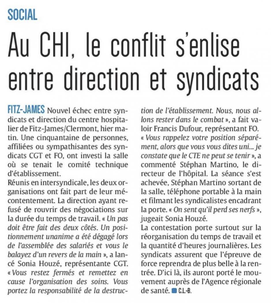 20180222-CP-Clermont-Fitz-James-Au CHI, le conflit s'enlise entre direction et syndicats