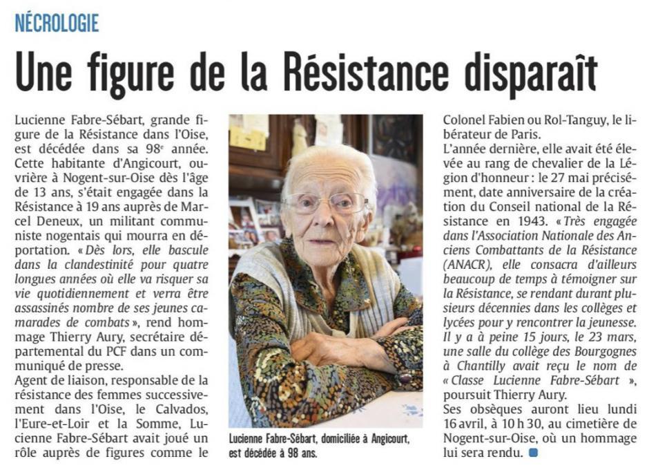 20180412-CP-Oise-Une figure de la Résistance disparaît