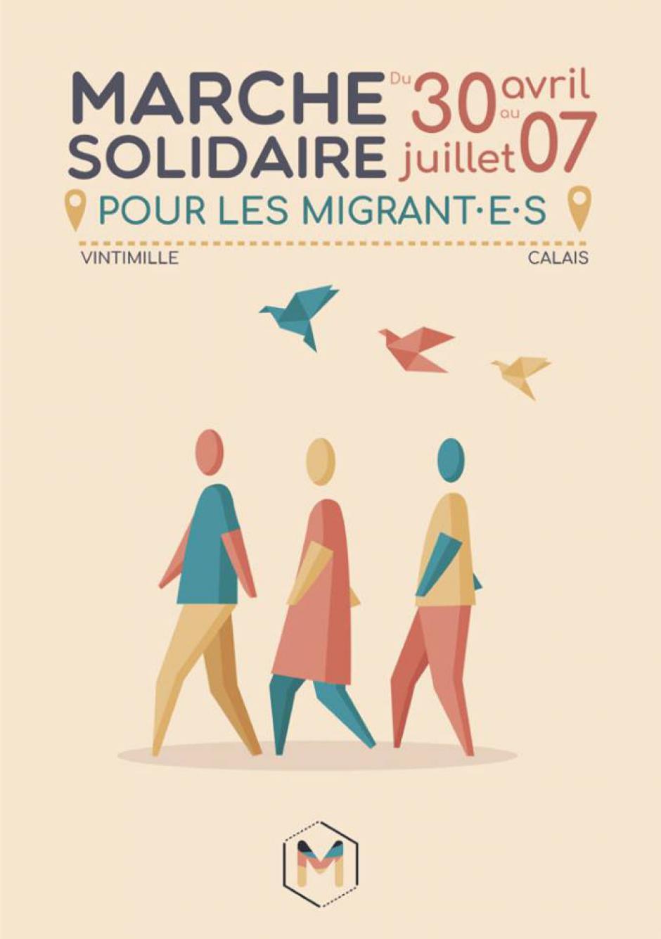 22 au 24 juin, Oise - L'Auberge des Migrants-Marche citoyenne et solidaire pour les migrant-e-s