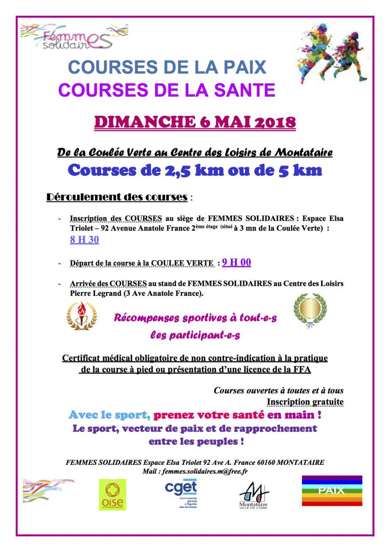 6 mai, Montataire - Courses de la Paix / Courses de la Santé