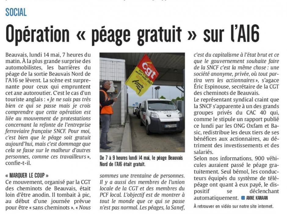 20180515-CP-Beauvais-Opération « péage gratuit » sur l'A16