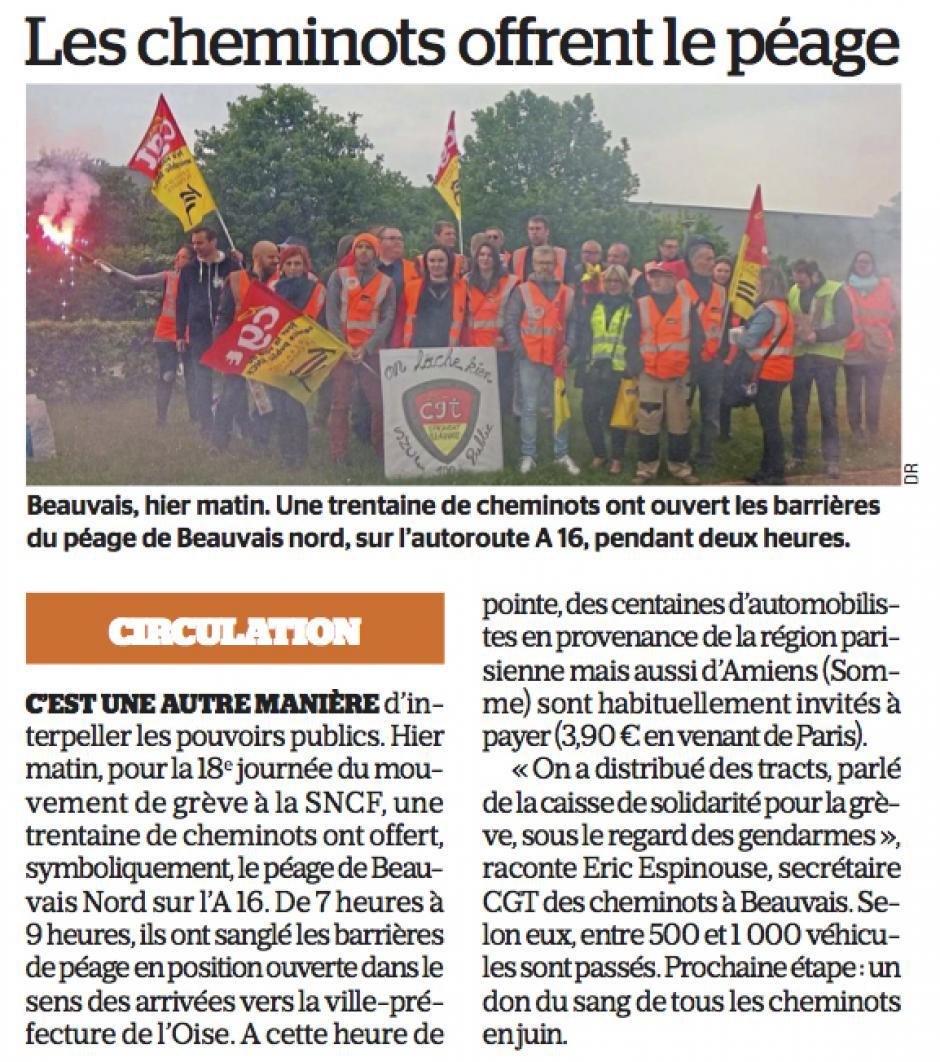 20180515-LeP-Beauvais-Les cheminots offrent le péage