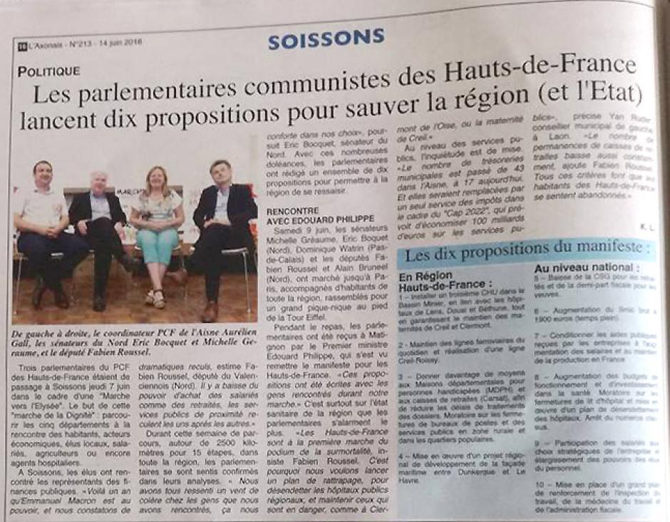 20180614-L'Axonnais-Soissons-Les parlementaires communistes des Hauts-de-France lancent dix propositions pour sauver la région (et l'État)