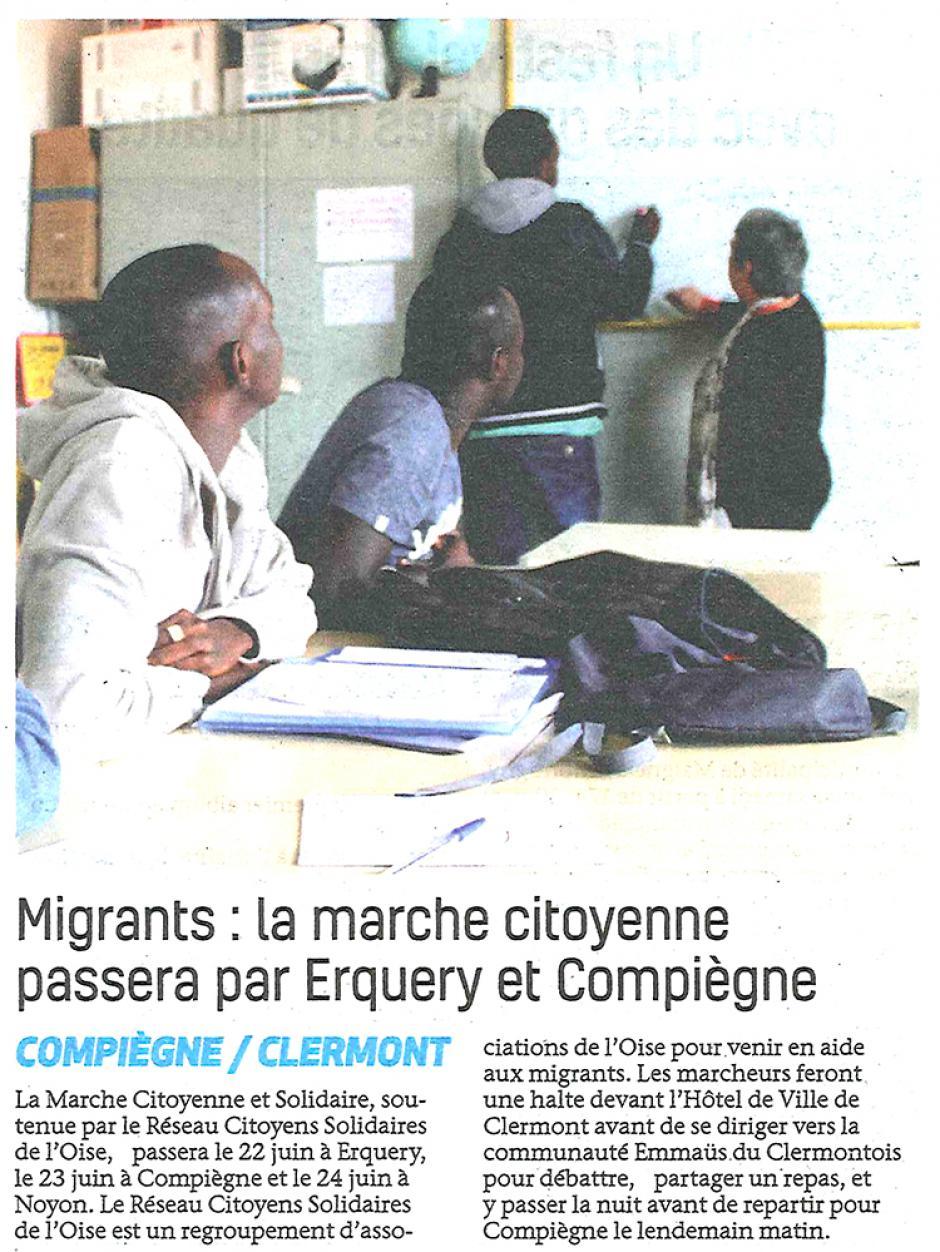 20180620-BonP-Oise-Migrants : la marche citoyenne passera par Erquery et Compiègne