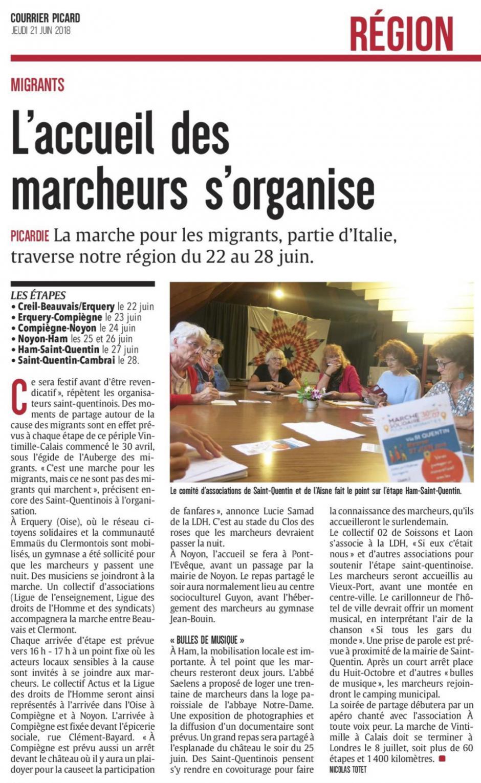 20180621-CP-Picardie-L'accueil des marcheurs s'organise