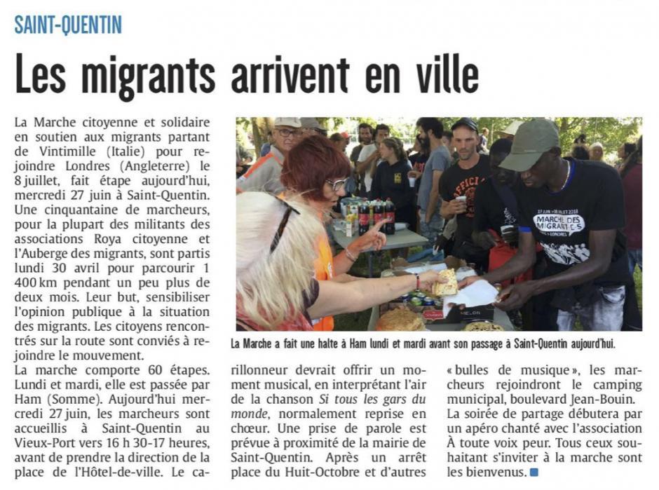 20180627-CP-Saint-Quentin-Les migrants arrivent en ville [éd Aisne]