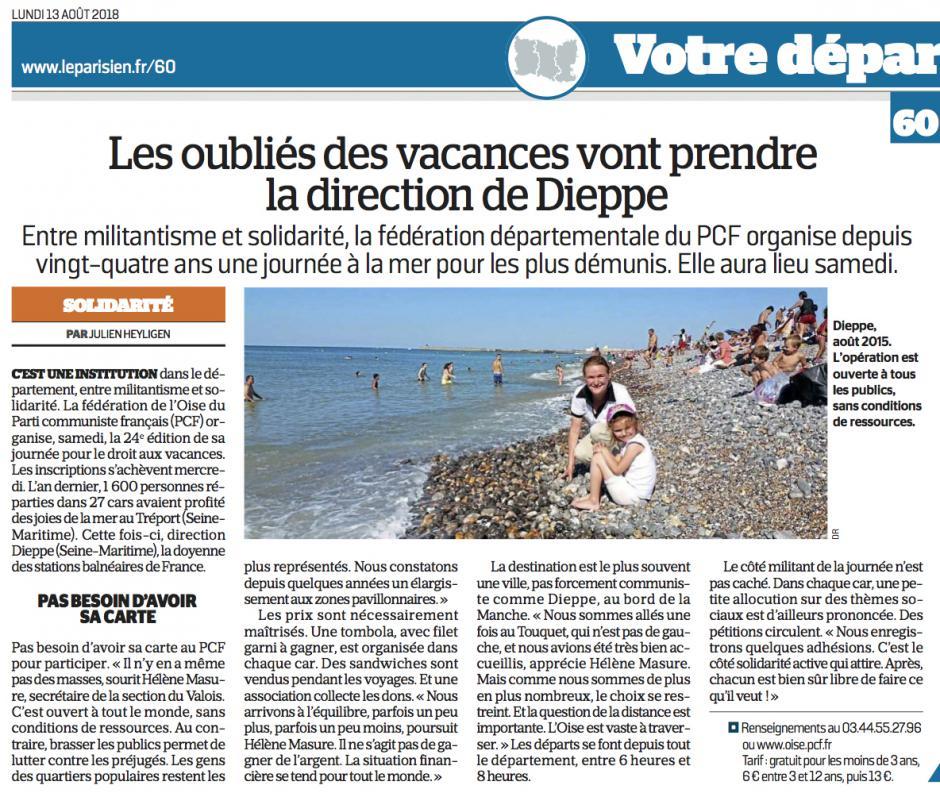 20180813-LeP-Oise-Les oubliés des vacances vont prendre la direction de Dieppe