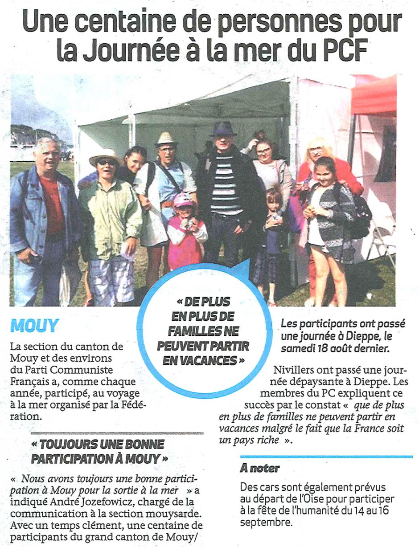 20180829-BonP-Mouy-Une centaine de personnes pour la Journée à la mer du PCF
