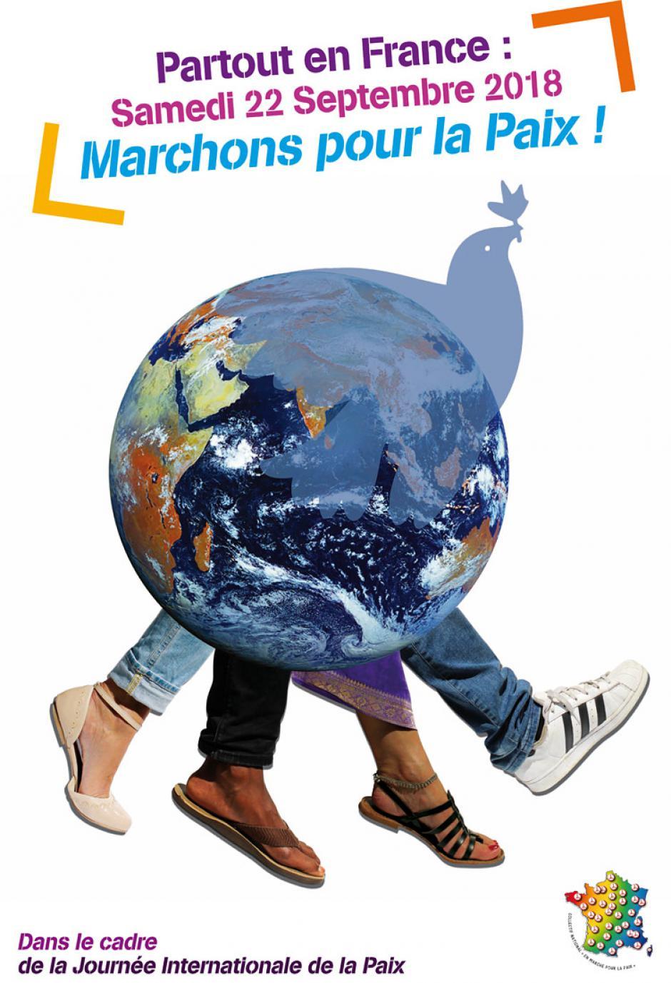 22 septembre, France - Partout, marchons pour la paix