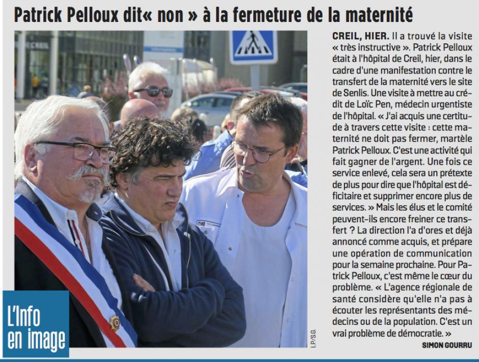 20180928-LeP-Creil-Patrick Pelloux dit « non » à la fermeture de la maternité