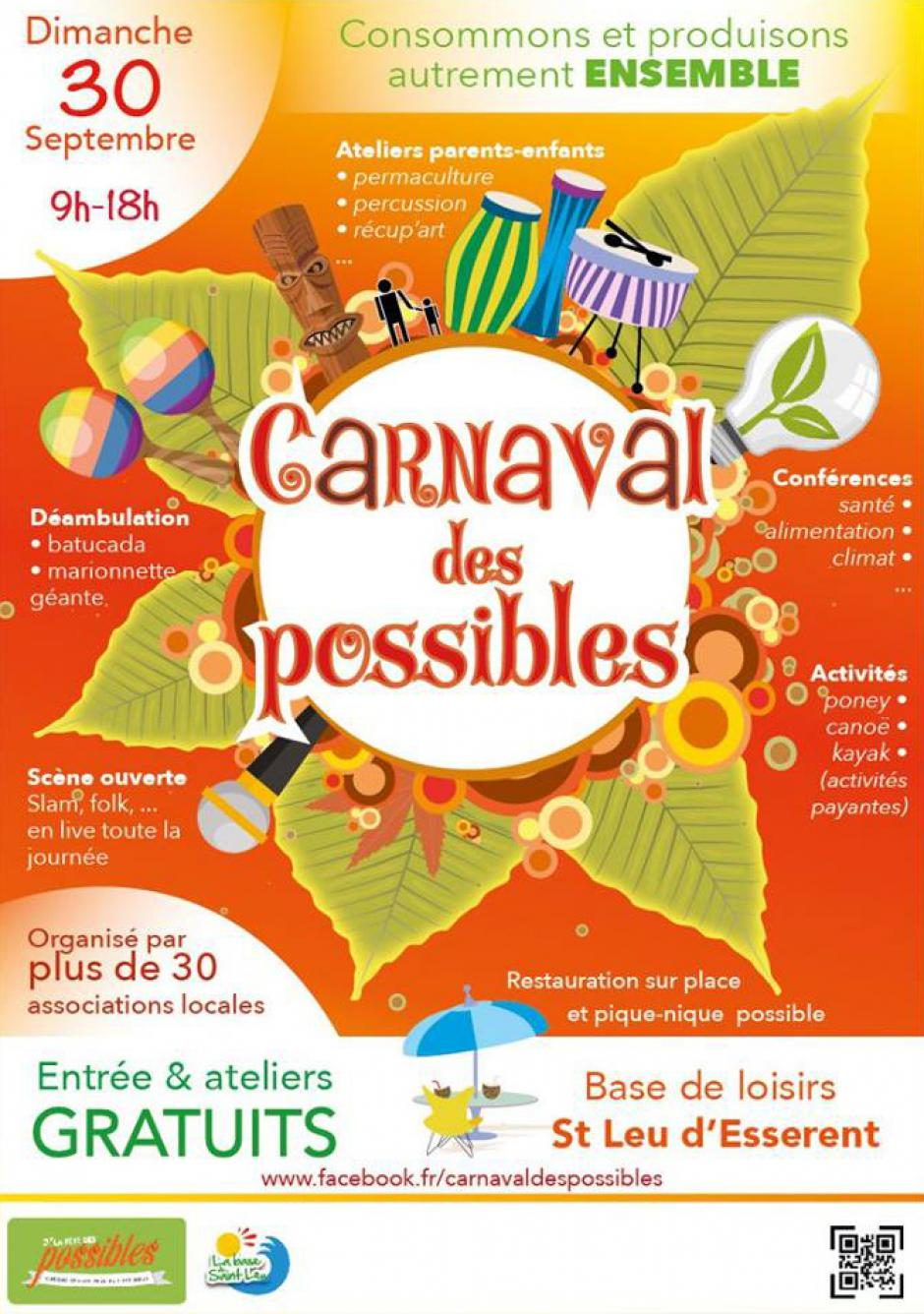 30 septembre, Saint-Leu-d'Esserent - Le Carnaval des Possibles