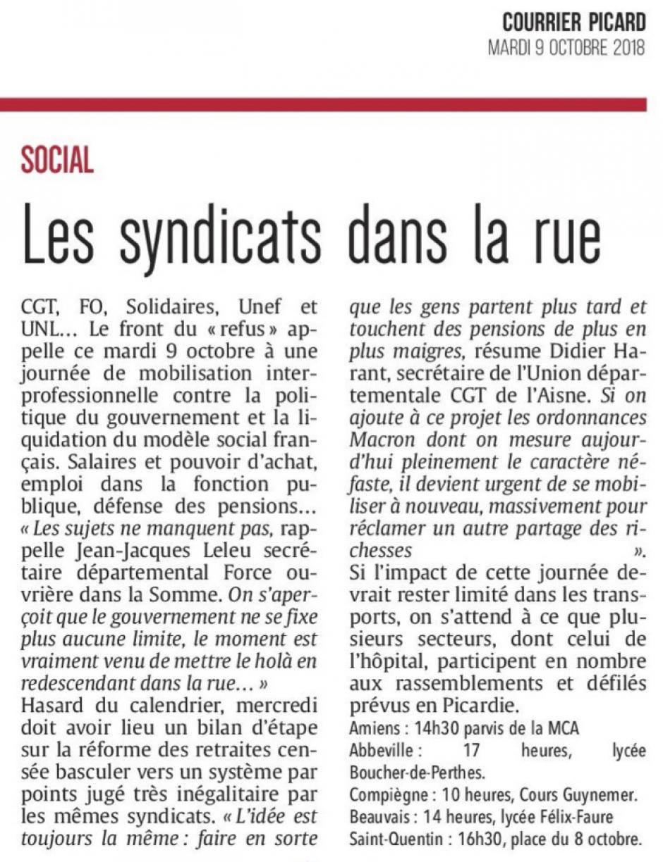 20181009-CP-Picardie-Les syndicats dans la rue