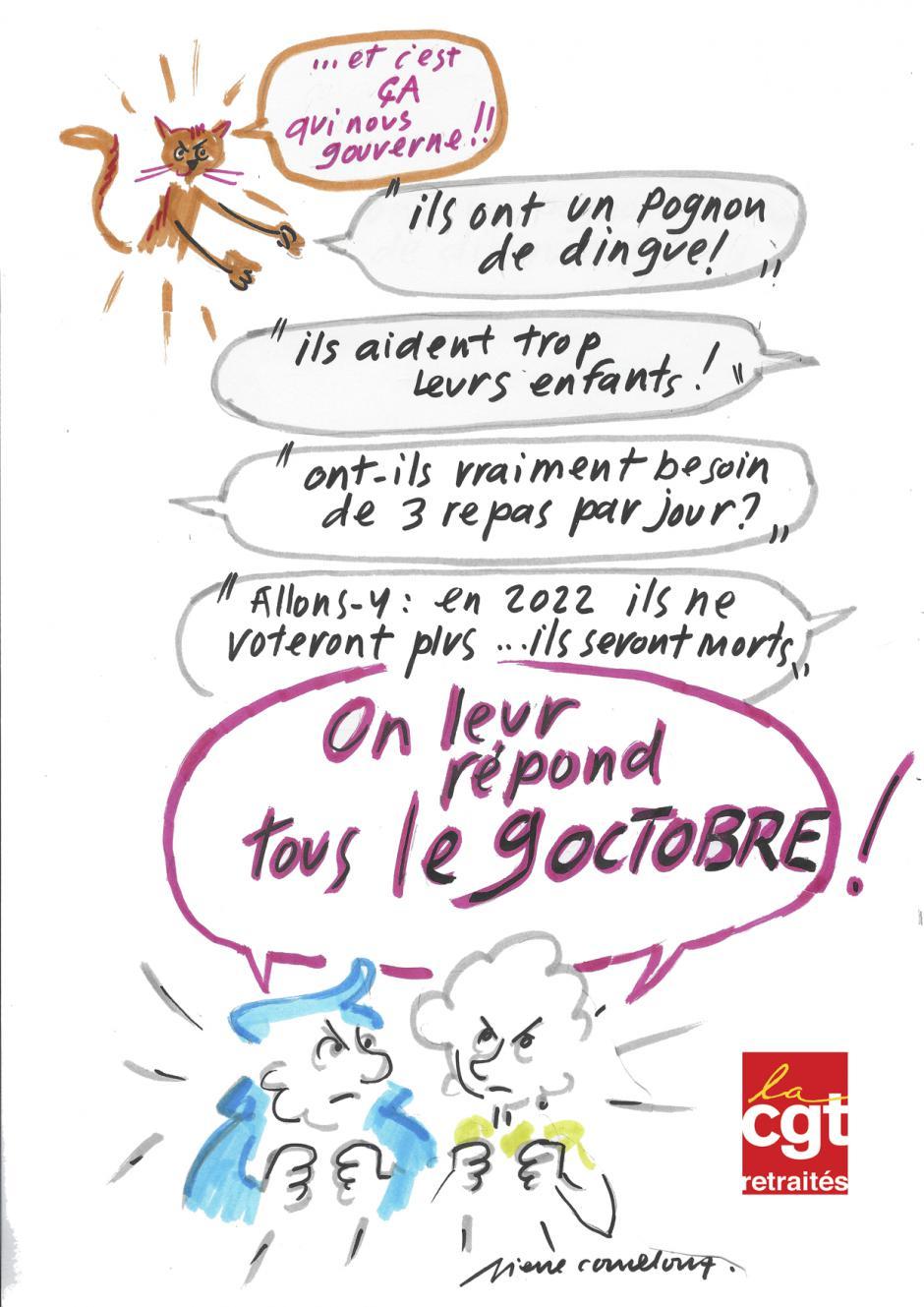 9 octobre, Beauvais - Manifestation départementale interprofessionnelle