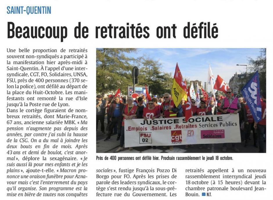 20181010-CP-Saint-Quentin-Beaucoup de retraités ont défilé [édition Aisne]