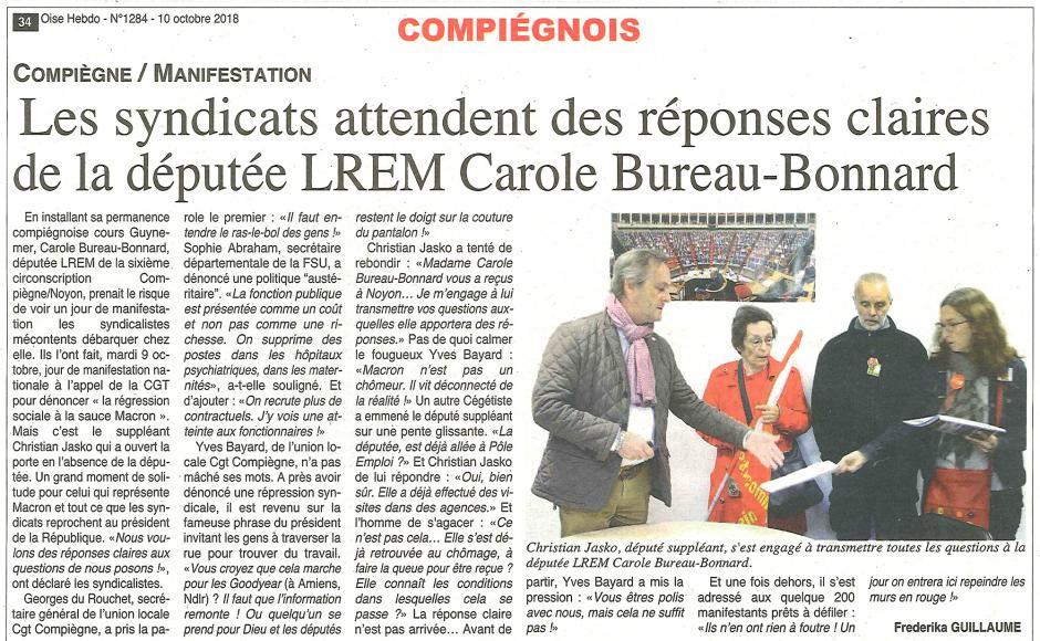 20181010-OH-Compiègne-Les syndicats attendent des réponses claires de la députée LREM