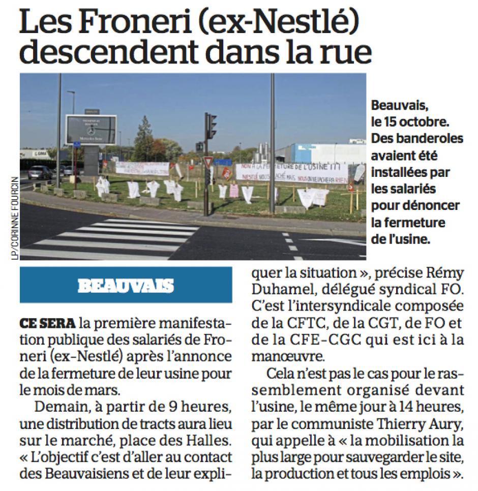 20181026-LeP-Beauvais-Les Froneri (ex-Nestlé) descendent dans la rue