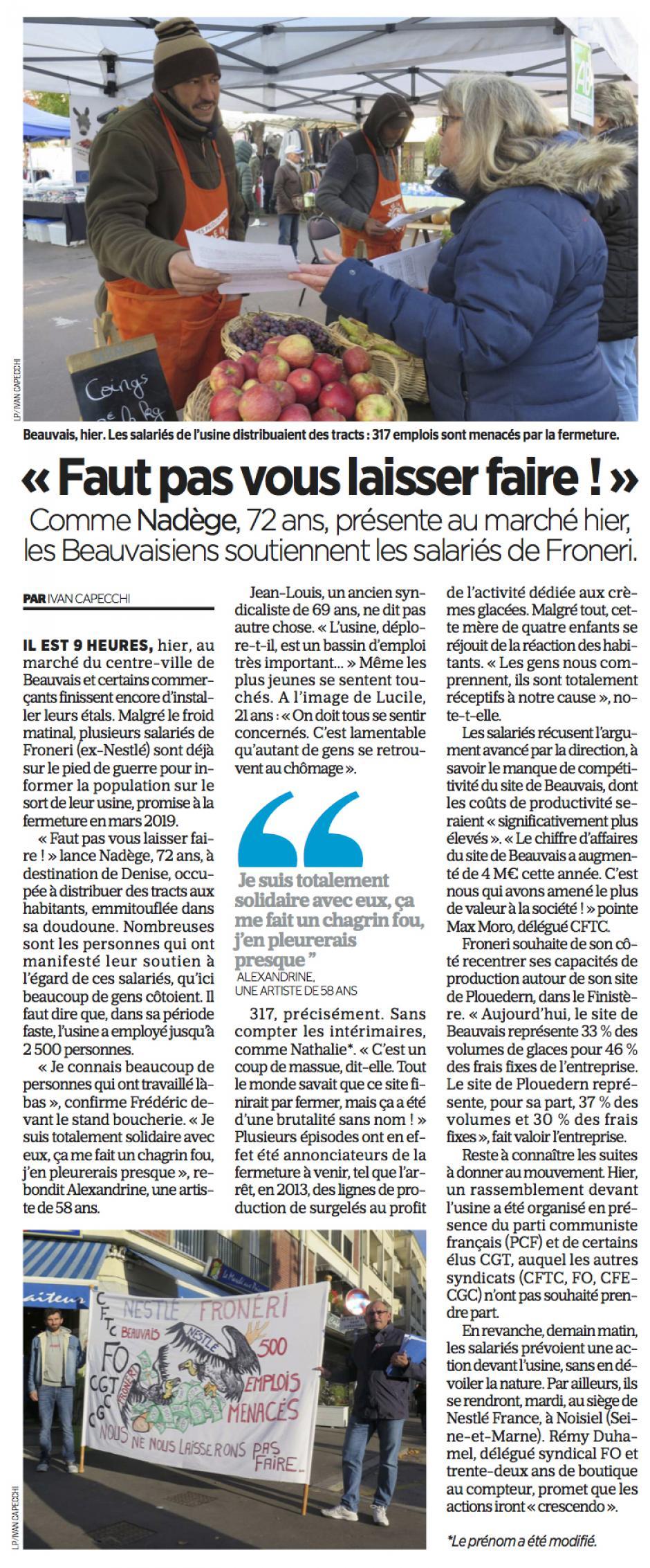 20181028-LeP-Beauvais-Froneri-Nestlé : « Faut pas vous laisser faire ! »