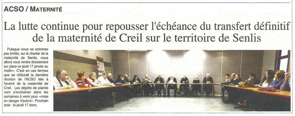 20190116-OH-Creillois-La lutte continue pour repousser l'échéance du transfert définitif de la maternité de Creil sur le territoire de Senlis