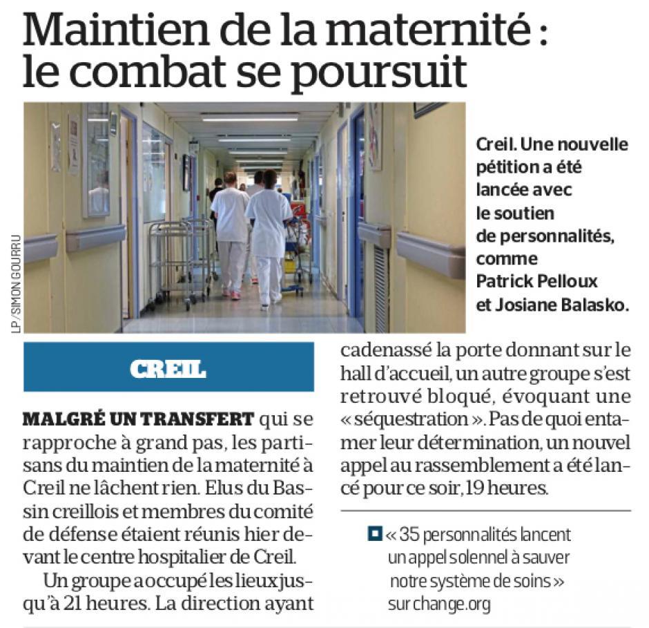 20190125-LeP-Creil-Maintien de la maternité : le combat se poursuit