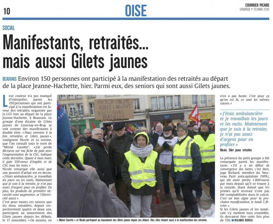 20190201-CP-Beauvais-Manifestants, retraités… mais aussi gilets jaunes