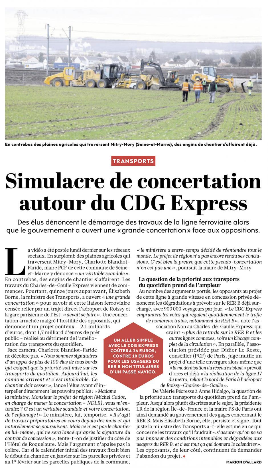 20190201-L'Huma-Île-de-France-Simulacre de concertation autour du CDG Express