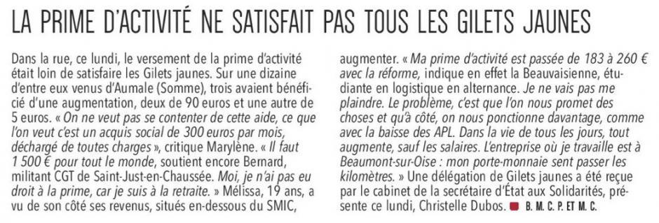 20190205-CP-Beauvais-La prime d'activité ne satisfait pas tous les gilets jaunes