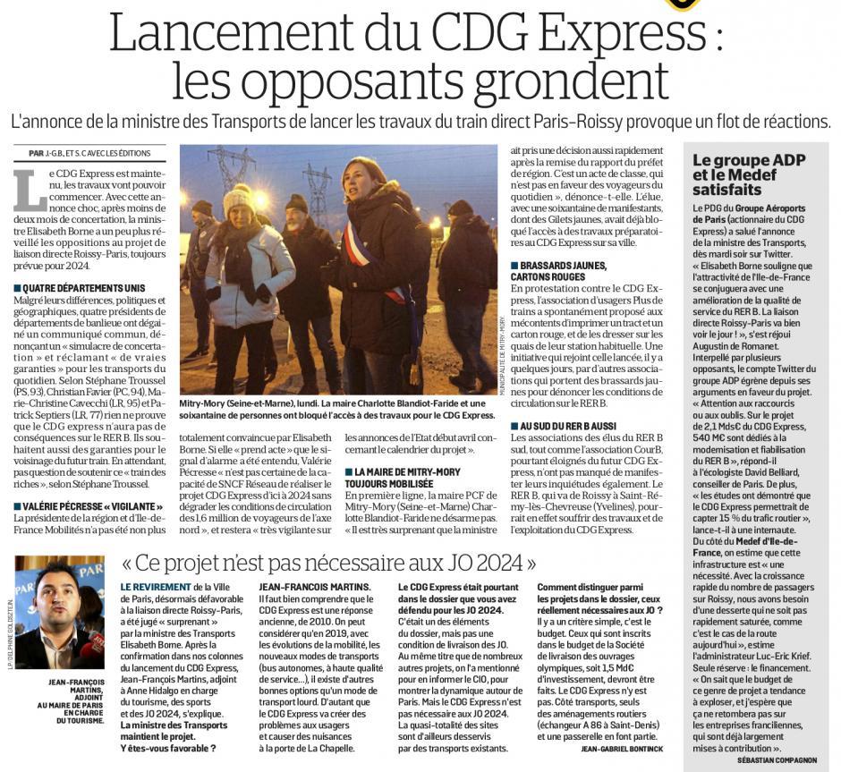 20190207-LeP-Île-de-France-Lancement du CDG Express : les opposants grondent