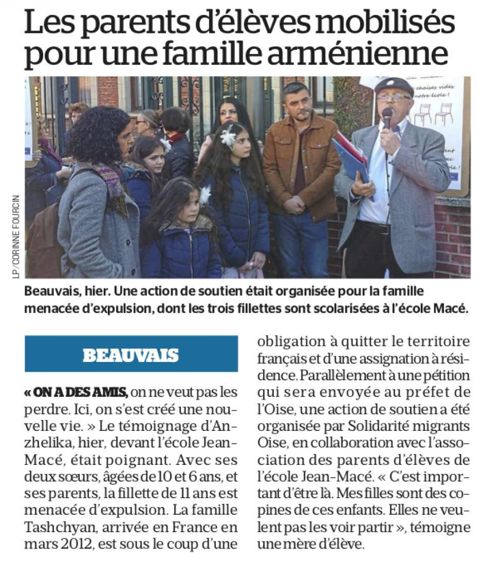 20190323-LeP-Beauvais-Les parents d'élèves mobilisés pour une famille arménienne