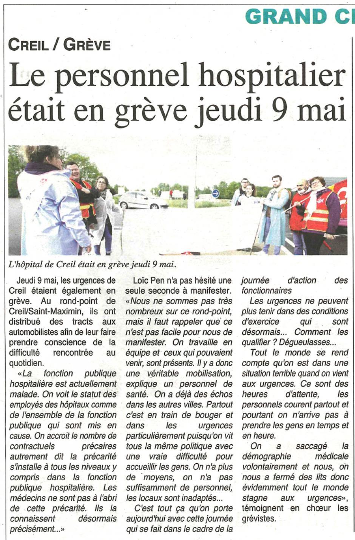 20190515-OH-Creil-Le personnel hospitalier était en grève jeudi 9 mai