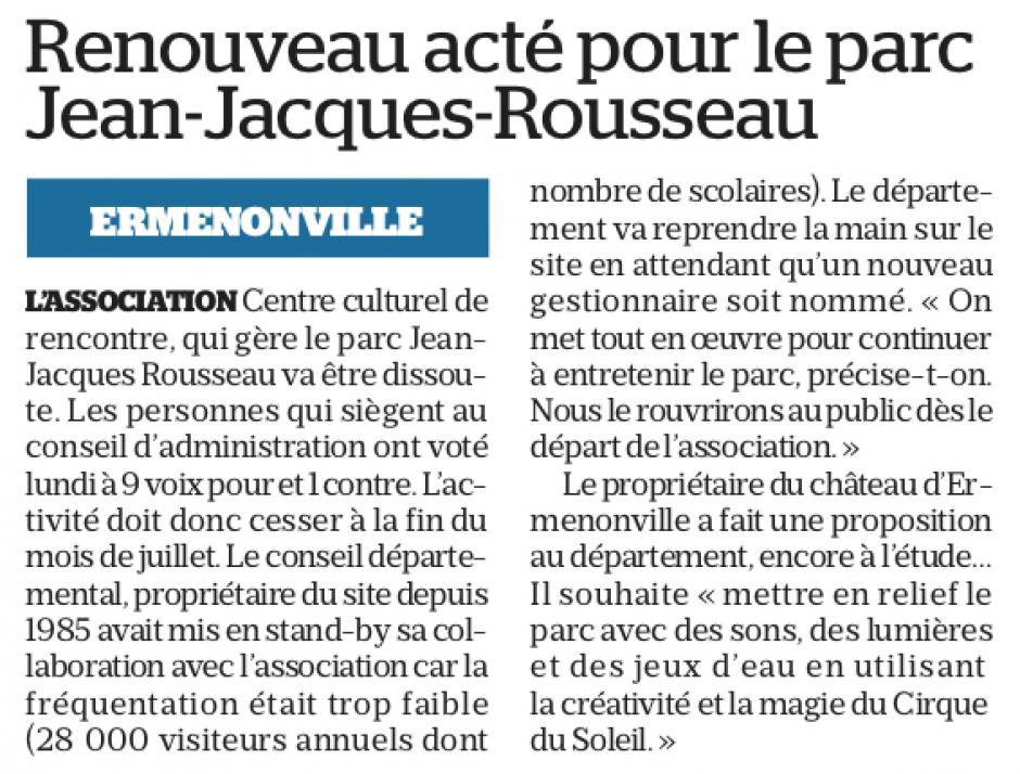 20190529-LeP-Ermenonville-Renouveau acté pour le parc Jean-Jacques Rousseau