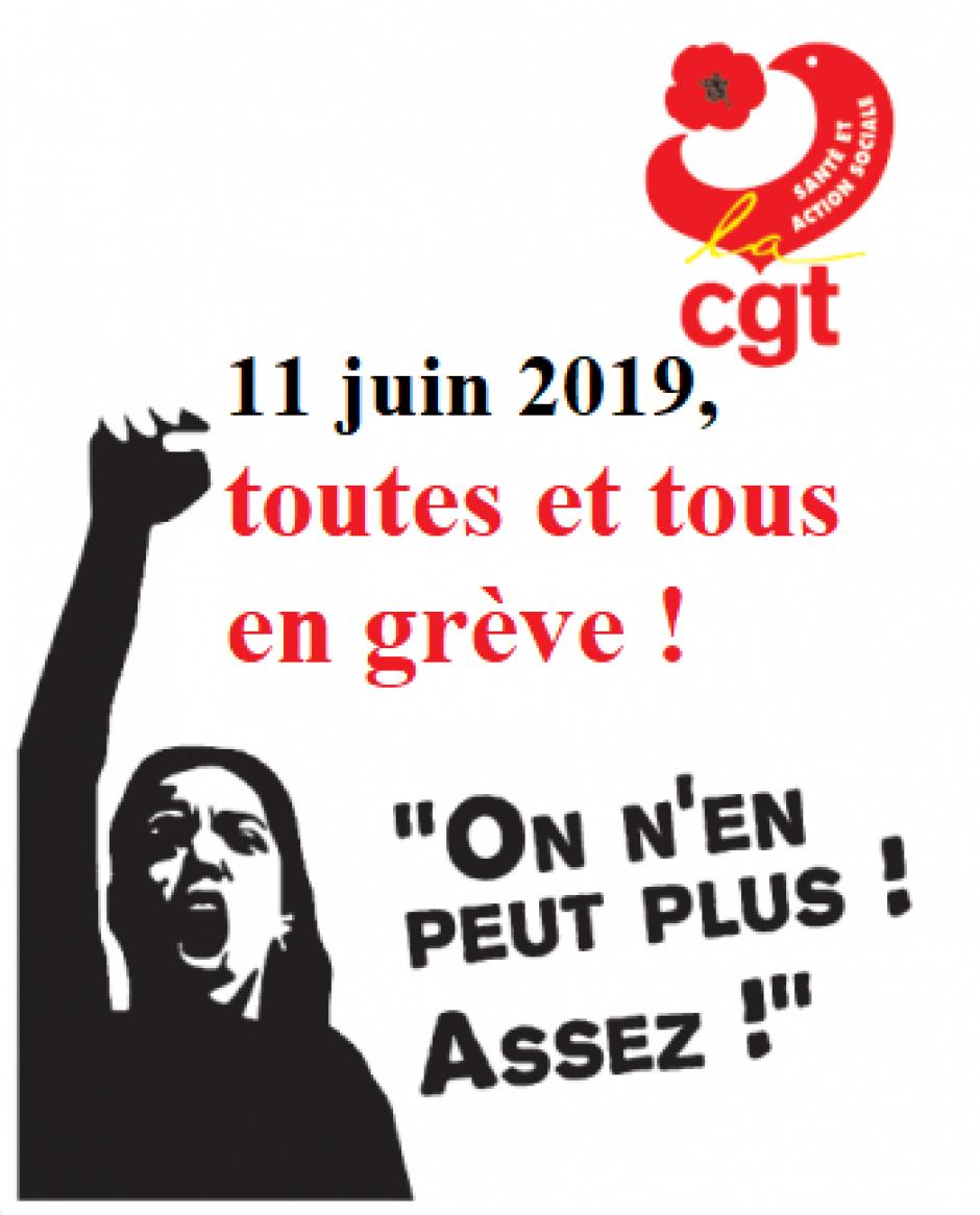 11 mai, France - Journée de mobilisation et de grève nationale des hospitaliers
