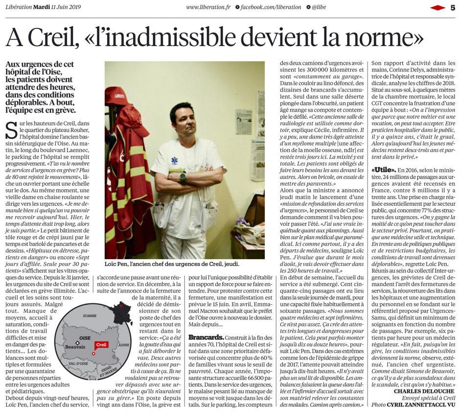 20190611-Libé-Creil-« L'inadmissible devient la norme »