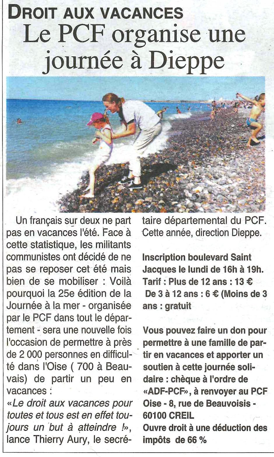 20190717-OH-Oise-Le PCF organise une journée à Dieppe