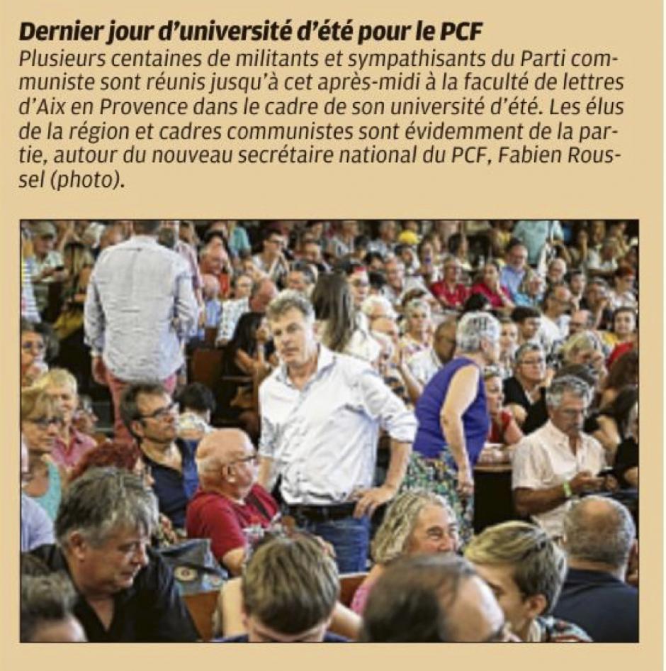 20190825-LaProv-Aix-en-Provence-Dernier jour d'université d'été pour le PCF