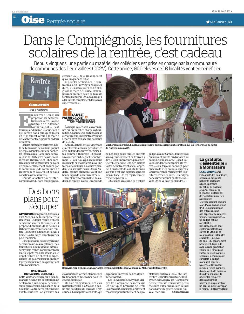 20190829-LeP-Thourotte-Montataire-Les fournitures scolaires de la rentrée, c'est cadeau