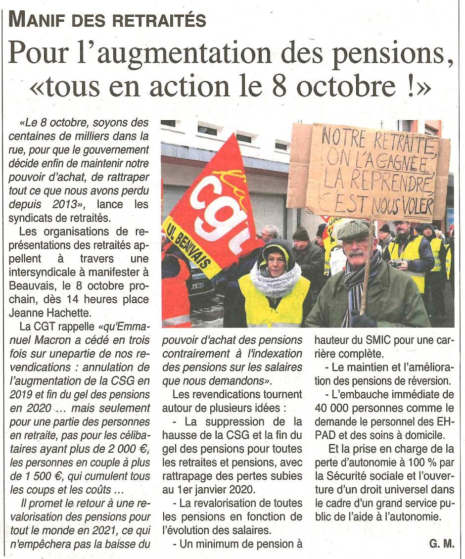 20191002-OH-Beauvais-Pour l'augmentation des pensions, « tous en action le 8 octobre ! »