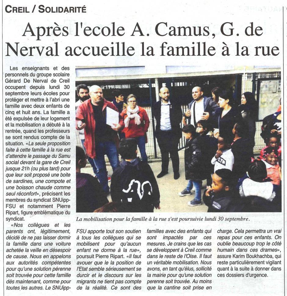 20191002-OH-Creil-Après l'école Albert-Camus, Gérard-de-Nerval accueille la famille à la rue