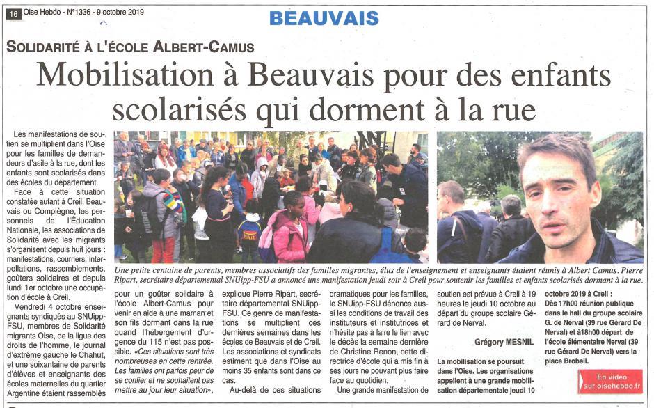 20191009-OH-Beauvais-Mobilisation pour des enfants scolarisés qui dorment à la rue