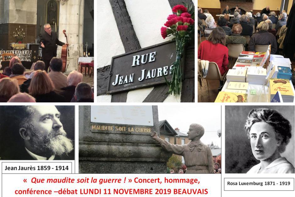 Bel après-midi sous le signe de la musique, de l'histoire et du combat pour la Paix et un monde plus juste - Beauvais, 11 novembre 2019