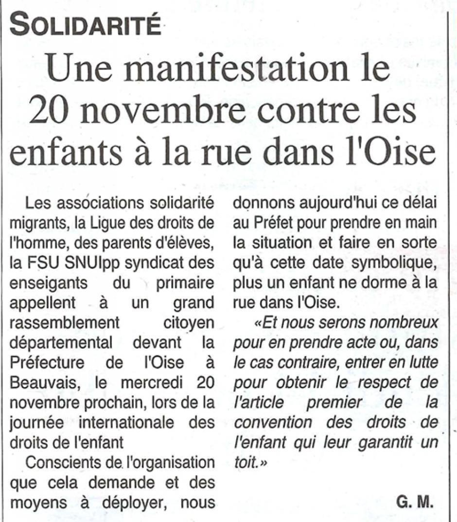 20191113-OH-Beauvais-Une manifestation le 20 octobre contre les enfants à la rue dans l'Oise
