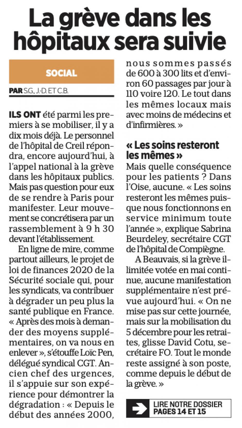 20191114-LeP-Oise-La grève dans les hôpitaux sera suivie