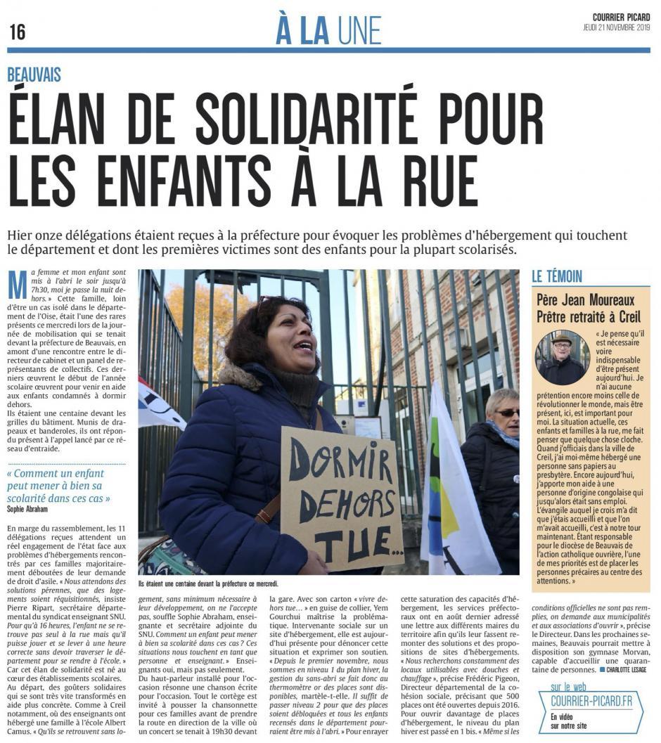 20191121-CP-Beauvais-Élan de solidarité pour les enfants à la rue