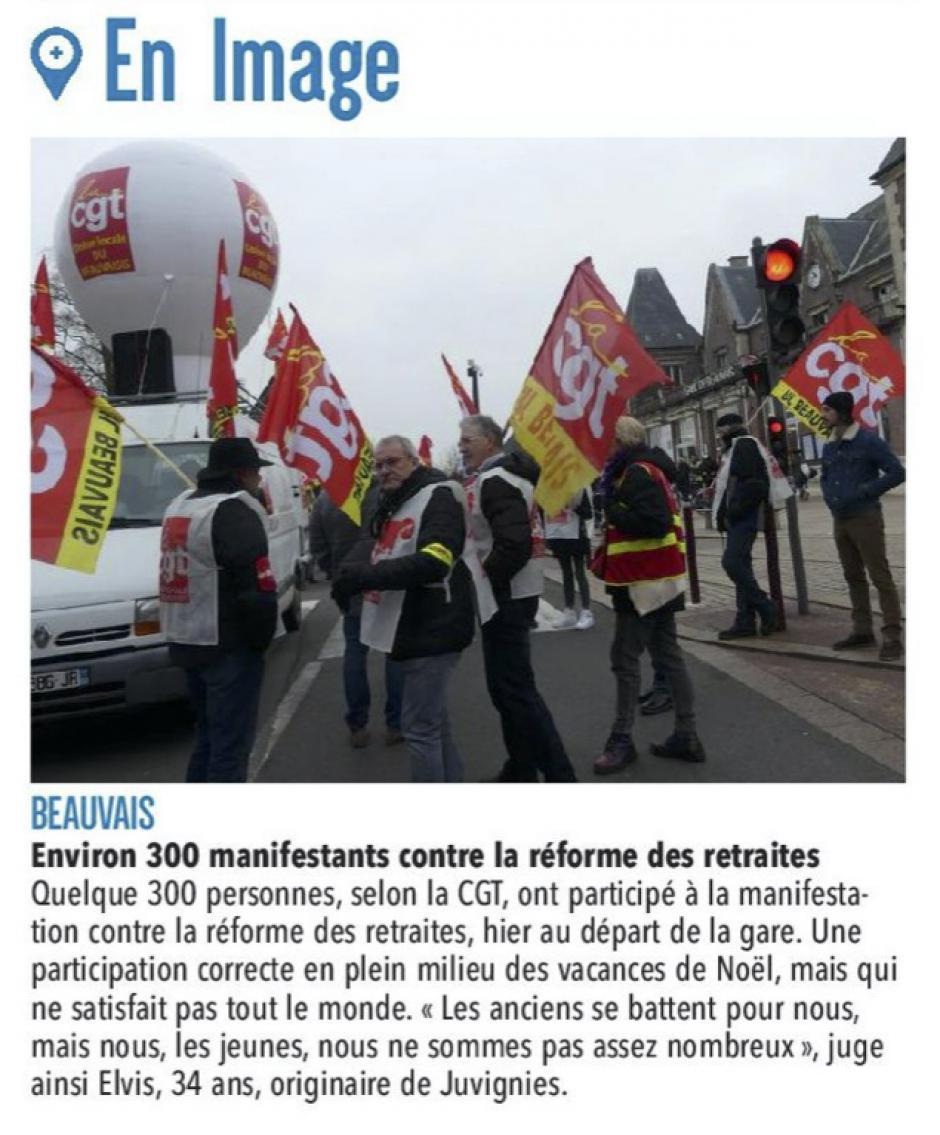 20191229-CP-Beauvais-Environ 300 manifestants contre la réforme des retraites