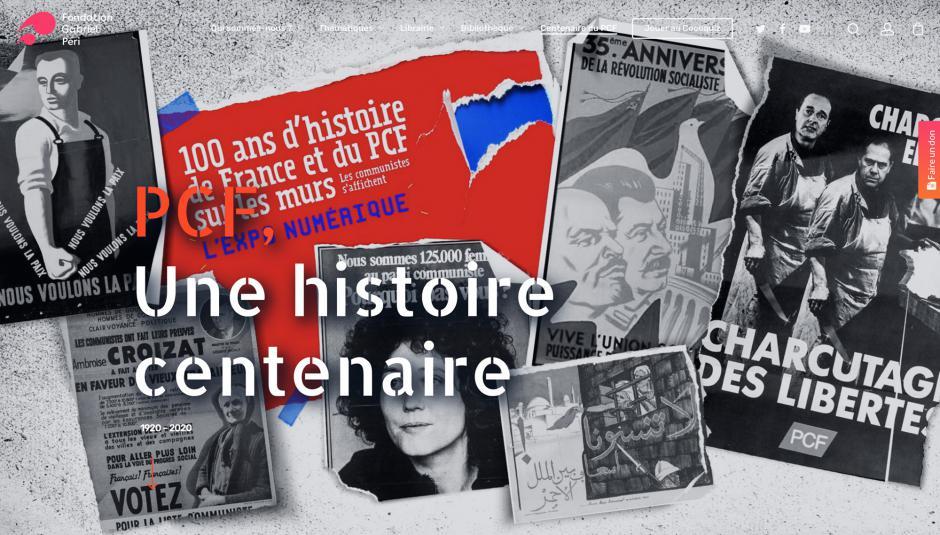 Je visite l'exposition numérique de la Fondation Gabriel Péri « PCF, une histoire centenaire »