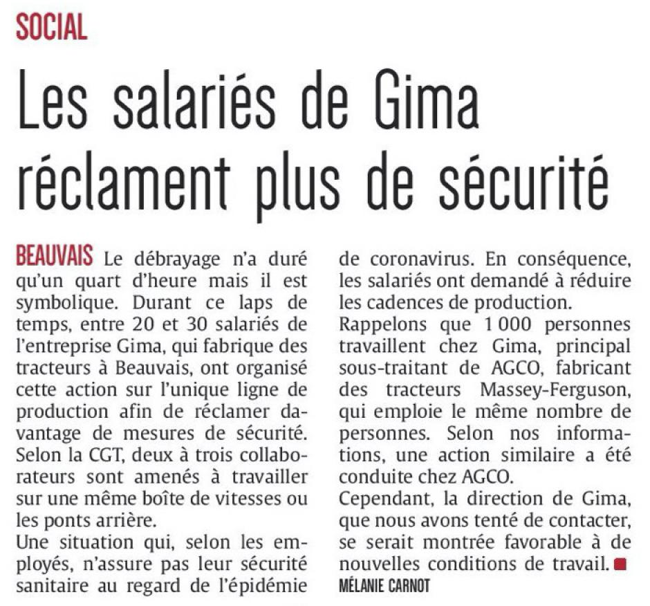 20200317-CP-Beauvais-Les salariés de Gima réclament plus de sécurité
