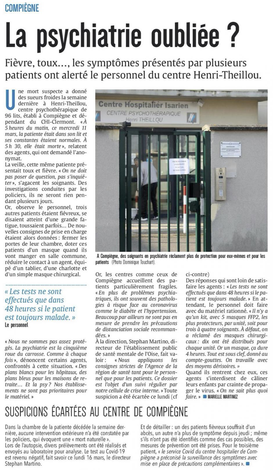 20200319-CP-Compiègne-La psychiatrie oubliée ?
