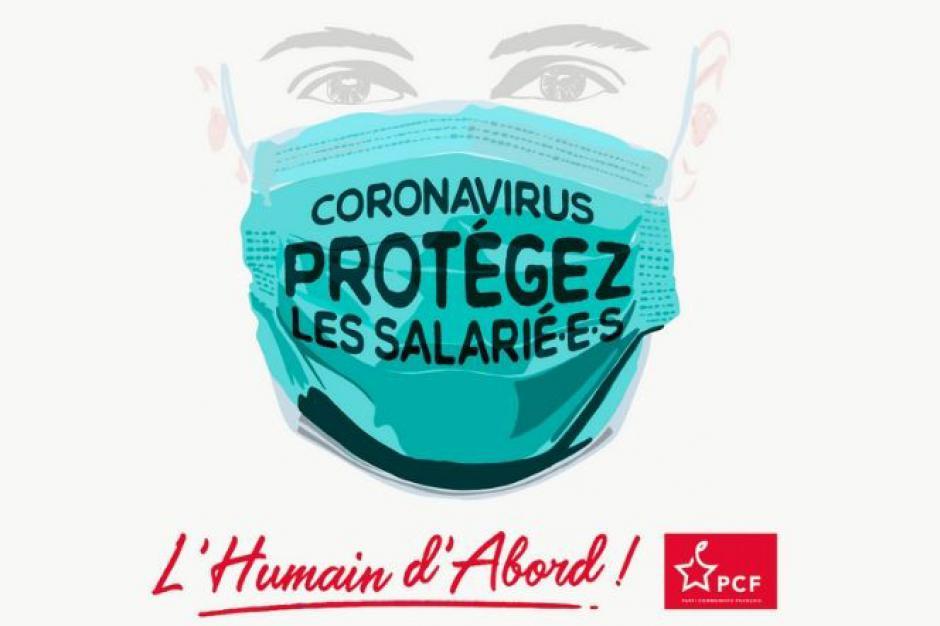 Coronavirus : les salarié·e·s doivent être protégé·e·s !