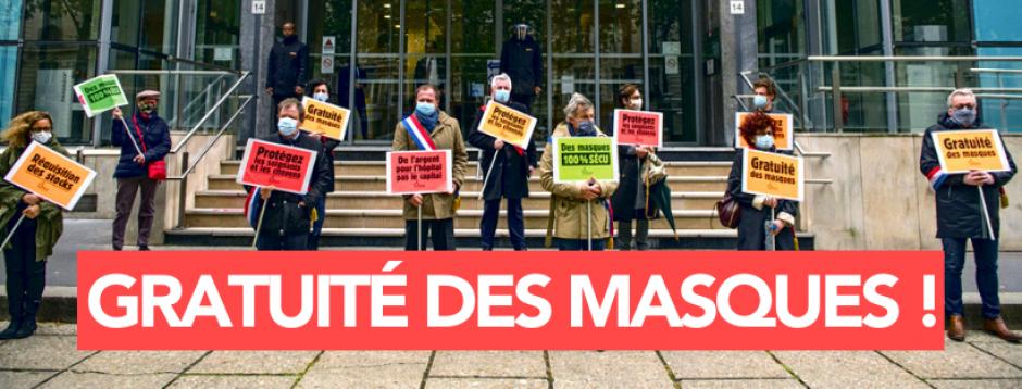 Accès aux masques pour toutes et tous : un enjeu de justice sociale et de santé publique !
