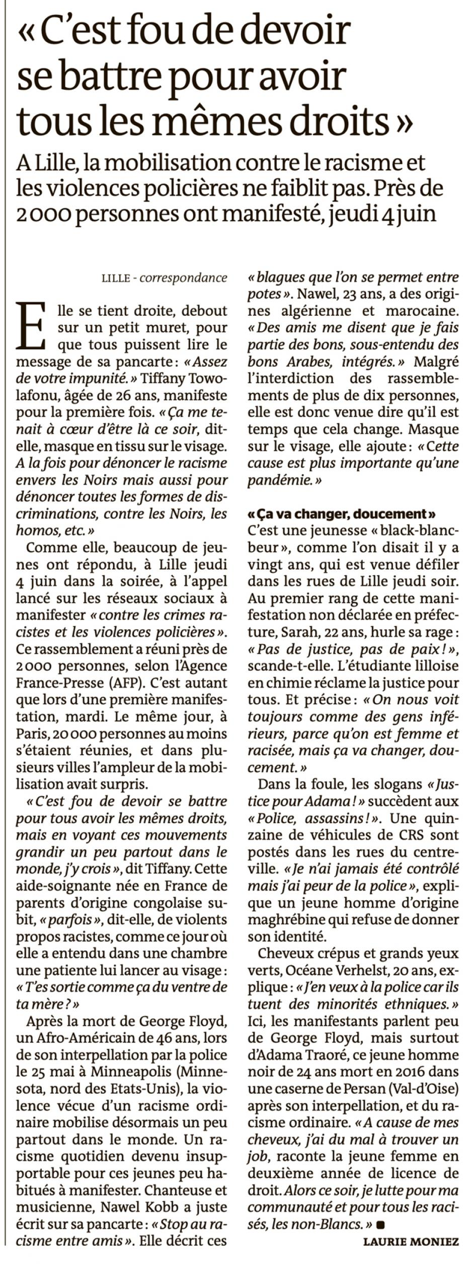20200606-LeM-Lille-« C'est fou de devoir se battre pour avoir tous les mêmes droits »