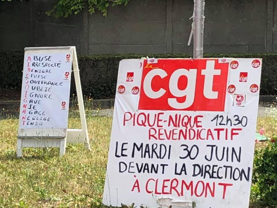 30 juin, Clermont - Mardi de la colère « Sauvons l'hôpital public »